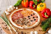 Supreme Pizza — Stock Photo