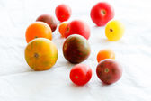 Color tomatoes — Stock Photo