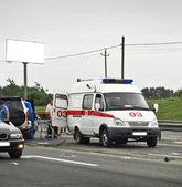 Road accidents — Stock Photo