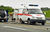 Ambulance van — Stock Photo