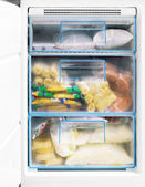 Freezer — Stock Photo
