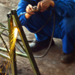 Stock Photo: Gas-weld
