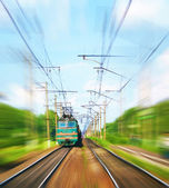 铁路 — 图库照片