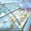 Refrigerated case — Stock Photo