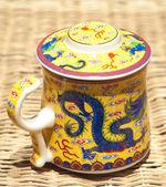 Chinese mug — Stock Photo