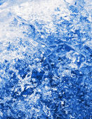 Blue crystallization — Stock Photo