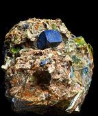 Crystal aggregate — Foto de Stock