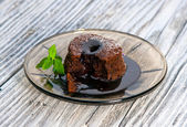 Chocolate Souffles — Stock Photo
