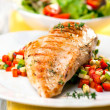 Grilled chicken breast — Stock Photo #19002455