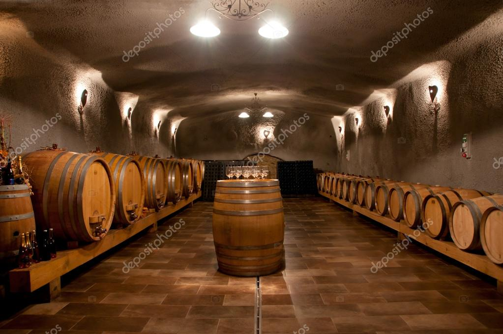 Wine Cellar  Stock Photo #19007297