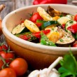 Oven Roasted Vegetables - Stock Photo