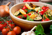 Oven Roasted Vegetables — Stockfoto