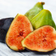 Fruits figs on white background — Stock Photo