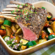 Grilled Rack of Lamb chops — Stock Photo #30816667