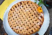 Fruit Pie — Stock Photo