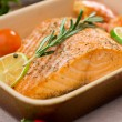 salmon fillet — Stock Photo #38891141