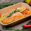 salmon fillet — Stock Photo #38891505