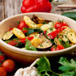 Stock Photo: Oven Roasted Vegetables