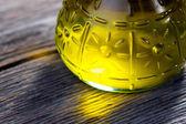Aceite de oliva virgen extra — Foto de Stock