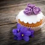 Rose cupcake — Stock Photo #44066941