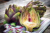 Artichoke sliced — Foto Stock