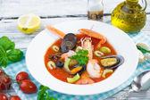 魚介のスープ — ストック写真