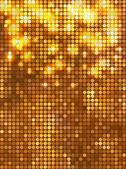 Vertikala guld mosaik — Stockvektor