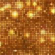 Horizontal gold mosaic - Stock Vector