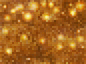 Horizontal gold mosaic — Stockvector