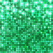 Emerald abstract sparkling background with circles - Векторная иллюстрация
