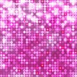 Pink abstract sparkling background with circles — Stock Vector #24494407