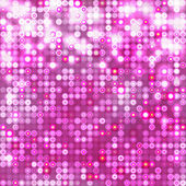 Pink abstract sparkling background with circles — Stock Vector