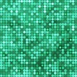 Seamless emerald background with circles - Image vectorielle