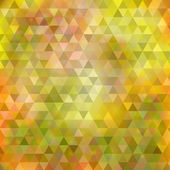 Abstract yellow green triangle background — Stock Vector