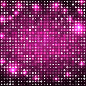 Pink abstract background with circles dark — Stock Vector