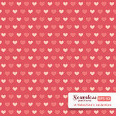 St. Valentine hearts. Abstract vector background — Stockvektor