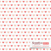 St. Valentine hearts. Abstract vector background — 图库矢量图片
