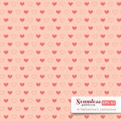St. Valentine hearts. Abstract vector background — Stok Vektör