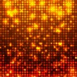 Orange disco background — Stock Vector