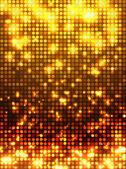 Fondo naranja discoteca — Vector de stock