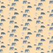 Elephants wallpaper — Stock Vector #48183285