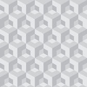 Cube seamless pattern — Vector de stock