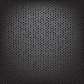 Perforated carbon fiber weave — Stock Vector