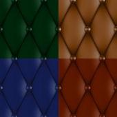 Luxury leather upholstery — Stock Vector