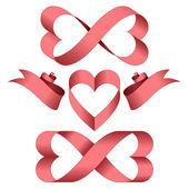 Endless love — Stock Vector