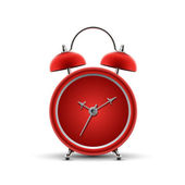 Red alarm clock — Stock Vector