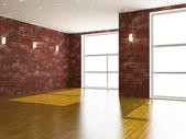 большой зал — Стоковое фото