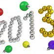 Stock Photo: Date of new year 2013