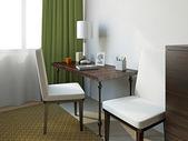 židle a stůl — Stock fotografie