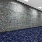 A long corridor — Stock Photo